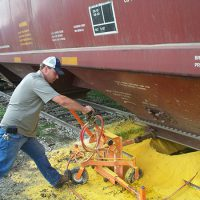 Save time and money with a powerful pneumatic railcar opener, by expediting the opening and closing of stubborn railcar gates while reducing the risk of injury.