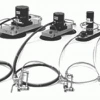 Portable vacuum-mounted vibrators