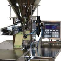 The E-Z Auto Scoop Filling System eliminates the need for slow, labor-intensive hand-scooping and measuring.
