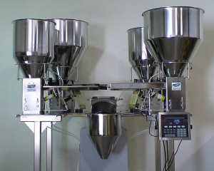 4 Bowl Automated Dispensing and Weighing